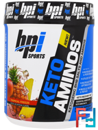 Keto Aminos, Ketogenic BHB Salts And Aminos, Tropical Freeze, BPI Sports, 1.32 lbs, 600 g