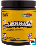 CLA Powder, Conjugated Linoleic Acid, Sour Batch, MAN Sports, 6.26 oz (177.5 g)