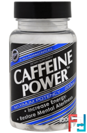 Caffeine Power, Hi Tech Pharmaceuticals, 200 mg, 100 Tablets