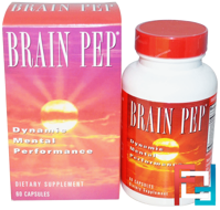Brain Pep, Natural Balance, 60 Veggie Caps