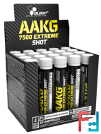 AAKG 7500 Extreme Shot, Olimp, 20 amp * 25 ml