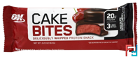 Protein Cake Bites, Optimum Nutrition, Chocolate Dipped Cherry Flavor, 1 bars * 63 g