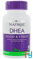 Natrol, 10 mg, DHEA, 30 Tablets