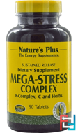 Mega-Stress Complex, Nature's Plus, 90 Tablets