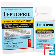 Leptopril, Generix Laboratories, 95 Capsules
