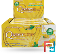 Questbar, Protein Bar, Lemon Cream Pie, 12 Bars, 60 g