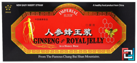 Ginseng and Royal Jelly, Imperial Elixir, 10 Bottles, 0.34 fl oz, 10 ml