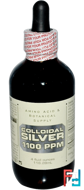 Colloidal Silver, 1,100 ppm, Amino Acid & Botanical Supply, 4 fl oz, 118.28 ml