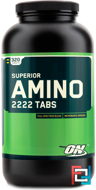 Superior Amino 2222 Tabs, Optimum Nutrition, 160 tablets