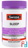 Sleep, Ultiboost, Swisse, 120 Tablets