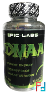 DMAA, Epic Labs, 70 mg, 90 caps