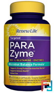 Targeted, ParaZyme, Renew Life, 90 Vegetable Capsules