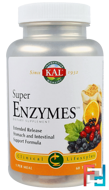 Super Enzymes, KAL, 60 Tablets