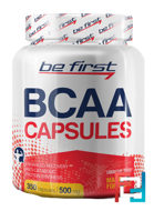 BCAA Capsules, Be First, 350 capsules