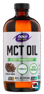 Sports, MCT Oil, Chocolate Mocha, Now Foods, 16 fl oz (473 ml)