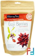 Raw Living Foods, Goji Berries, Wilderness Poets, 8 oz, 226.8 g
