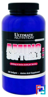 Amino Softgels, Ultimate Nutrition, 300 softgels