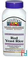 Red Yeast Rice, 21st Century, 150 Veggie Caps