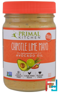 Mayonnaise with Avocado Oil, Chipotle Lime, Primal Kitchen, 12 fl oz (355 ml)