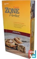 Classic, All-Natural Nutrition Bars, Cinnamon Roll, ZonePerfect, 12 Bars, 1.76 oz (50 g) Each