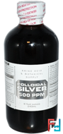 Colloidal Silver, 500 ppm, Amino Acid & Botanical Supply, 8 fl oz, 240 ml