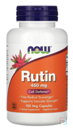 Rutin, Now Foods, 450 mg, 100 Veggie Caps