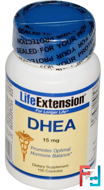 DHEA, 15 mg, Life Extension, 100 Capsules