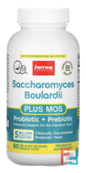 Saccharomyces Boulardii + MOS, Jarrow Formulas, 5 Billion, 90 Veggie Caps