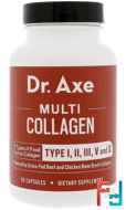 Multi Collagen Protein, Dr. Axe / Ancient Nutrition, 90 Capsules