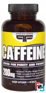 Caffeine, Primaforce, 200 mg, 90 tablets