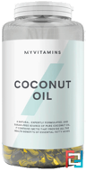 Coconut oil softgels (Кокосовое Масло В Мягких Гелевых Капсулах), Myprotein, 90 capsules