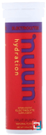 Effervescent Electrolyte, Nuun, Fruit Punch, 10 tablets