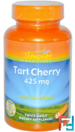 Tart Cherry, Thompson, 425 mg, 60 Veggie Caps