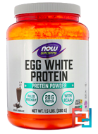 Eggwhite Protein, Now Foods, 1.5 lbs, 680 g