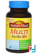 Multi for Her 50+, Nature Made, 60 Softgels