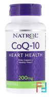 Co-Q10, Natrol, 200 mg, 45 Softgels