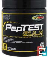 PepTest Bulk, Compounded Testosterone Pre-Workout, MAN Sports, 9.88 oz, 280 g