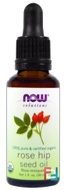 Solutions, Certified Organic Rose Hip Seed Oil, Now Foods, 30 ml
