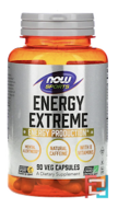 Sports Energy Extreme, Now Foods, 90 Capsules