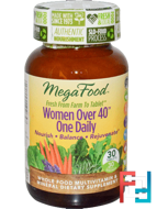 Women Over 40 One Daily, MegaFood, 30 Tablets