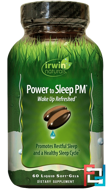 Power to Sleep PM, Irwin Naturals, 60 Liquid Soft-Gels