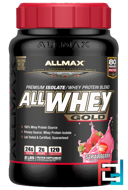 All Whey Gold, Premium Isolate / Whey Protein Blend, ALLMAX Nutrition, 2 lbs, 907 g
