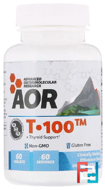 T • 100, Advanced Orthomolecular Research AOR, 60 Tablets