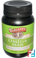 Omega Man Supplement, Barlean's, 1,000 mg, 120 Softgels