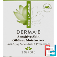 Sensitive Skin Oil-Free Moisturizer, Derma E, 2 oz, 56 g