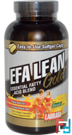 EFA Lean Gold, Labrada Nutrition, 180 Softgel Capsules