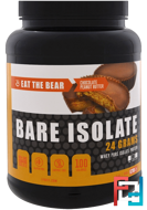 Bare Isolate, Whey Pure Protein Isolate, Chocolate Peanut Butter, Eat the Bear, 2 lbs (908 g)