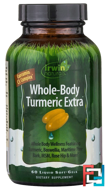 Whole-Body Turmeric Extra, Irwin Naturals, 60 Liquid Soft-Gels