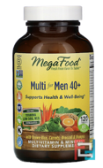 Multi for Men 40+, MegaFood, 120 Tablets