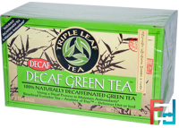 Decaf Green Tea, Triple Leaf Tea, 20 Tea Bags, 1.4 oz, 40 g